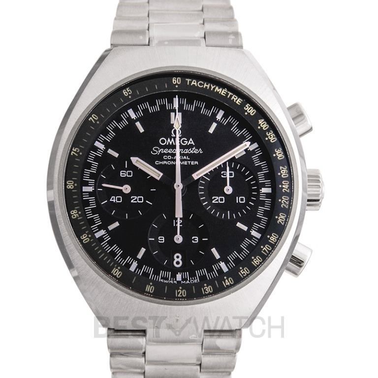 [NEW] Omega Speedmaster Mark II Co-Axial Chronograph 42.4x46.2mm Automatic Black Dial Steel Men's Watch 327.10.43.50.01.001