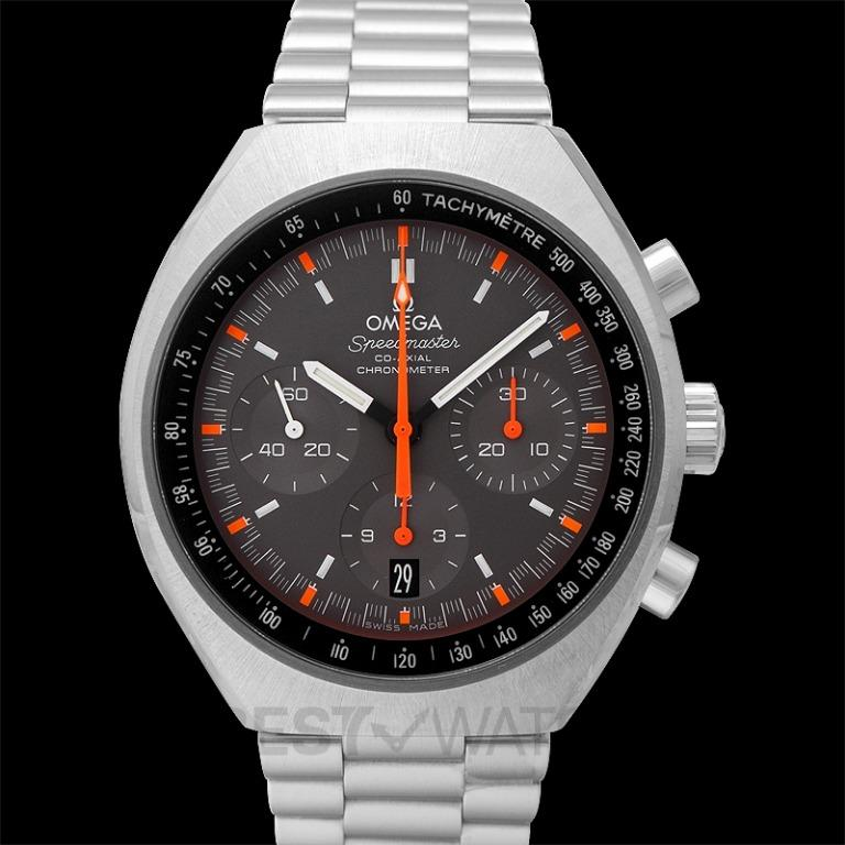 [NEW] Omega Speedmaster Mark II Co-Axial Chronograph 42.4x46.2mm Grey Dial Steel Men's Watch 327.10.43.50.06.001