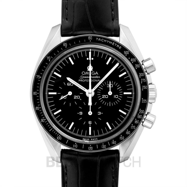 [NEW] Omega Speedmaster Moonwatch Professional Chronograph 42mm Manual-winding Black Dial Stainless Steel Men's Watch 311.33.42.30.01.001