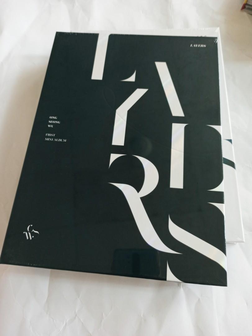 Ong Seong Wu - Mini Album Vol.1 [LAYERS] (READYSTOCK-SEALED)