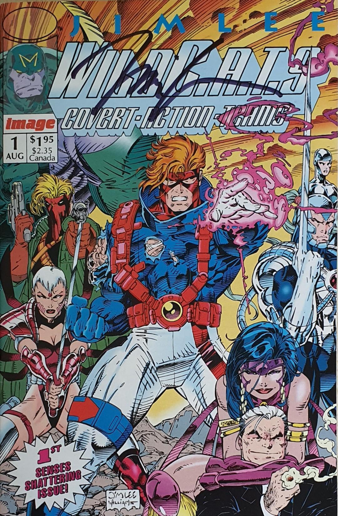 Jim Lee Wildcats 1 Image Comics 1992 Wildc.a.t.s