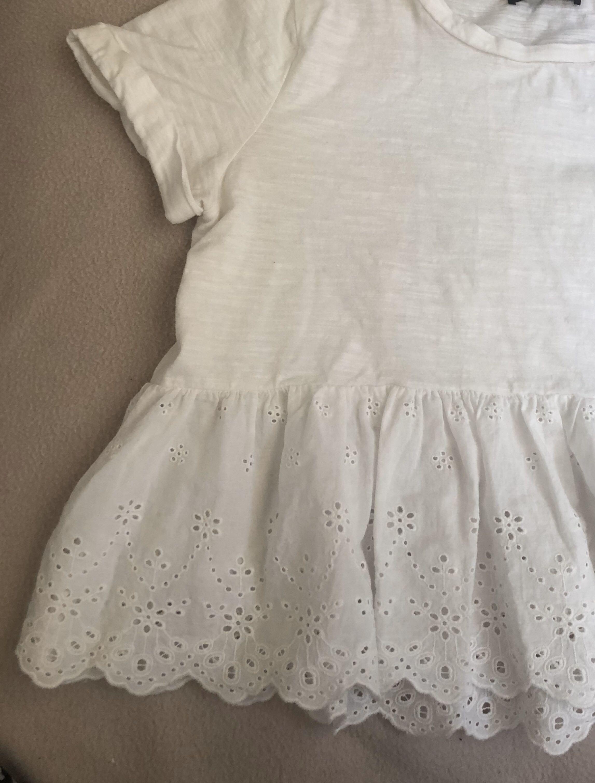 White Shein Top