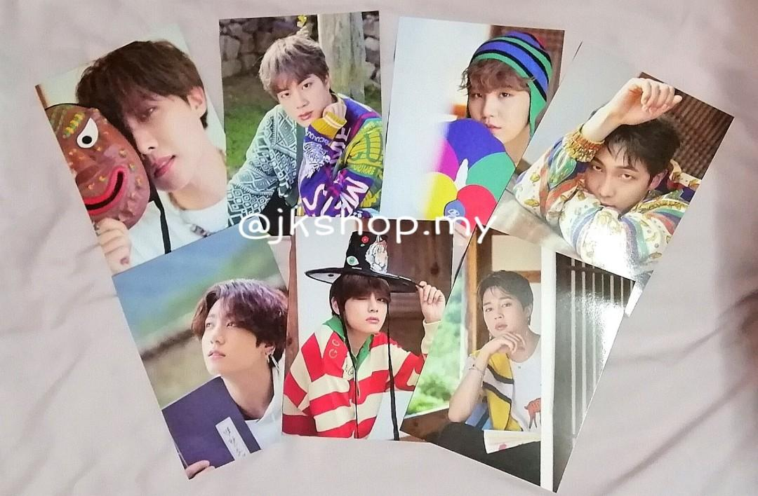[PRICE REDUCED] 💜BTS OFFICIAL MINI POSTER SUMMER PACKAGE 2019💜