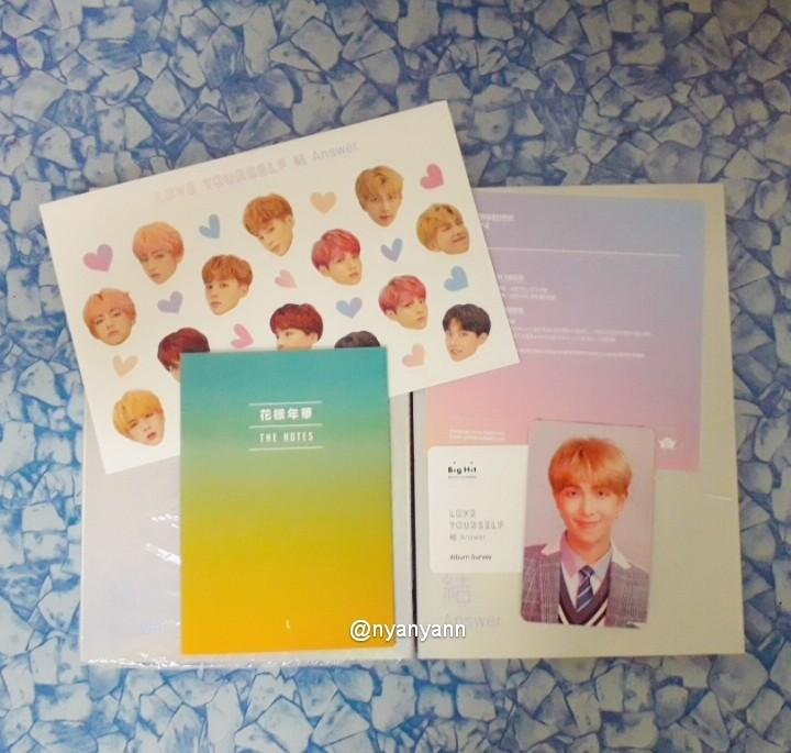 [WTS Only] BTS Love Yourself Answer:L version Album with Rapmon Photocard