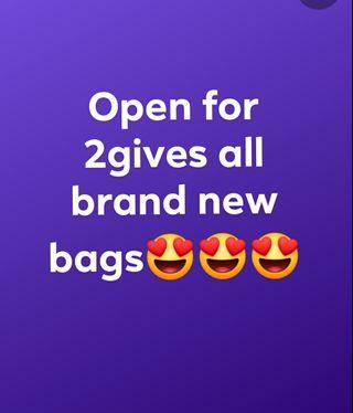 Brand new bags from US