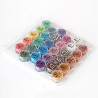 Mica Pearl Powder Pigments - Box Set of 30 Colours