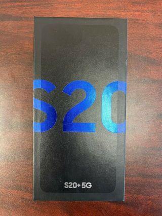 Brand new Samsung Galaxy S20 + 128gb local set