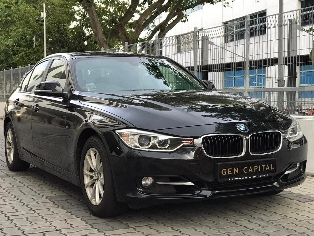 BMW 320i -  50% Circuit Breaker Promotion to help the PHV drivers/Self-employed in coping with the Covid-19 situation. Travel with a peace of mind with just $500 deposit driveaway. Call +65 8818 8998 & 8188 8616