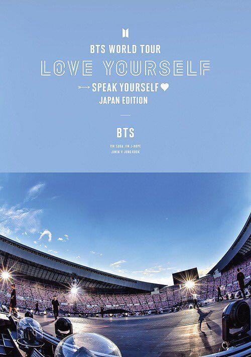 BTS World Tour 'Love Yourself: Speak Yourself' - Japan Edition [Regular Edition] bluray