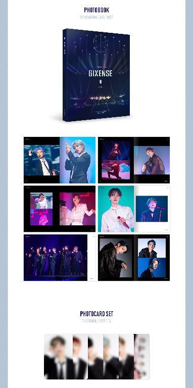 DVD - AB6IX 1ST WORLD TOUR - 6IXENSE - IN SEOUL DVD  - PREORDER / READY STOCK + FREE GIFT PHOTOCARDS
