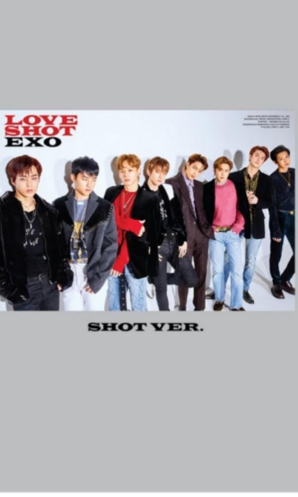 EXO 5th Album (Repackaged) - Love Shot (Shot ver.)
