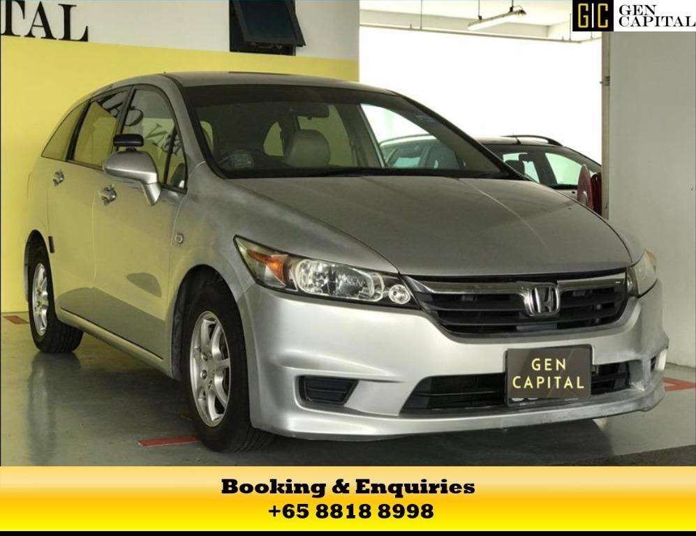 Honda Stream! 50% Circuit Breaker Promotion to help the PHV drivers/Self-employed in coping with the Covid-19 situation. Travel with a peace of mind with just $500 deposit driveaway. Call +65 8818 8998 & 8188 8616