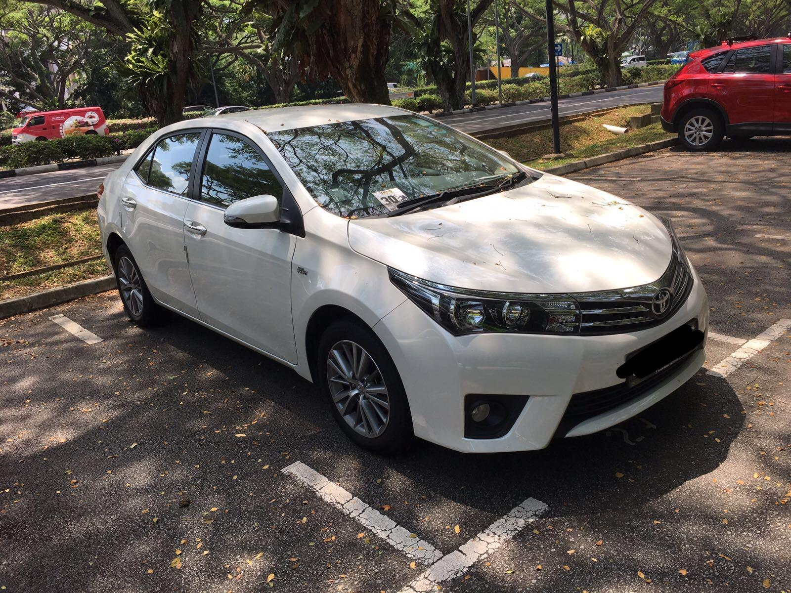 LELONG NEW TOYOTA ALTIS CHEAP CAR RENTAL BUSINESS AS USUAL