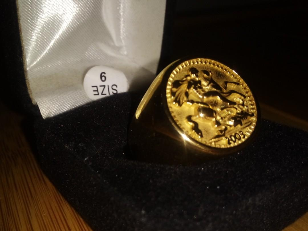 NEW Sovereign Ring.