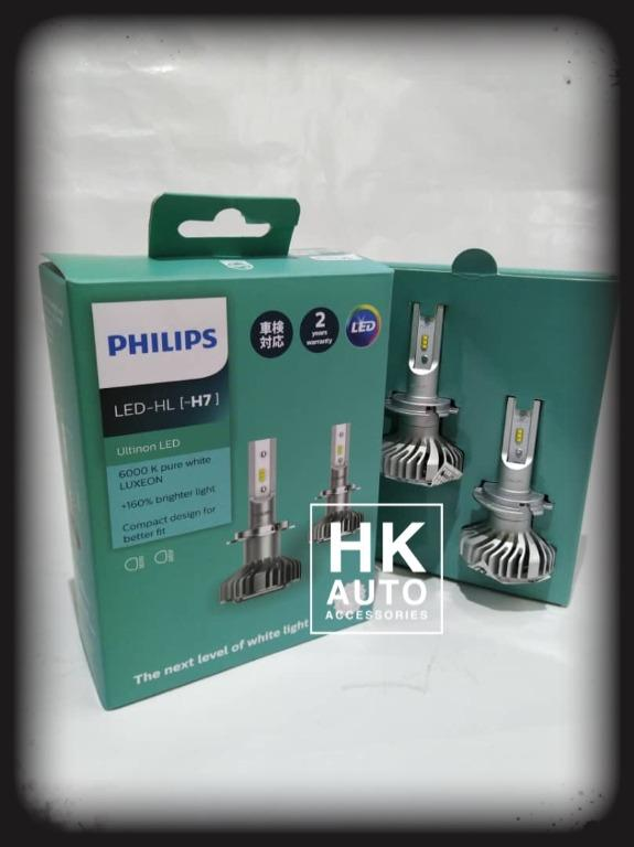 Philips 11972ULX2 H7 headLights Ultinon LED 6000K 12v
