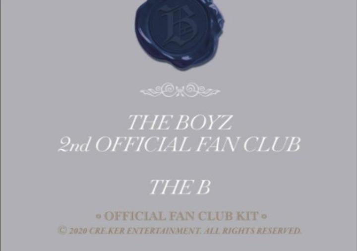 The boyz 2nd Gen Membership Official Fankit (loose item)
