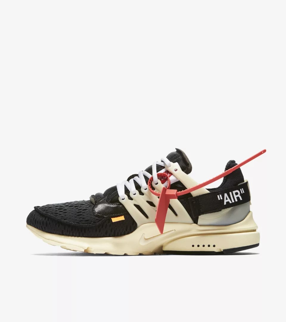 US 6, 7 Nike off white air presto og