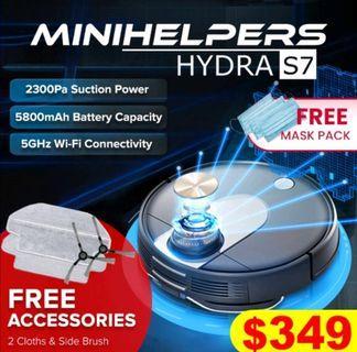 Hydra S7 robot vacuum from Minihelpers
