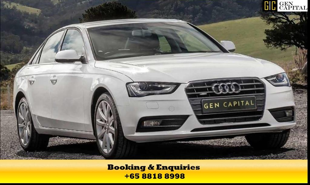 AUDI A3/A4 - ADVANCE BOOKING ONLY! Whatsapp/Contact me at +65 8818 8998 to reserve a car now!