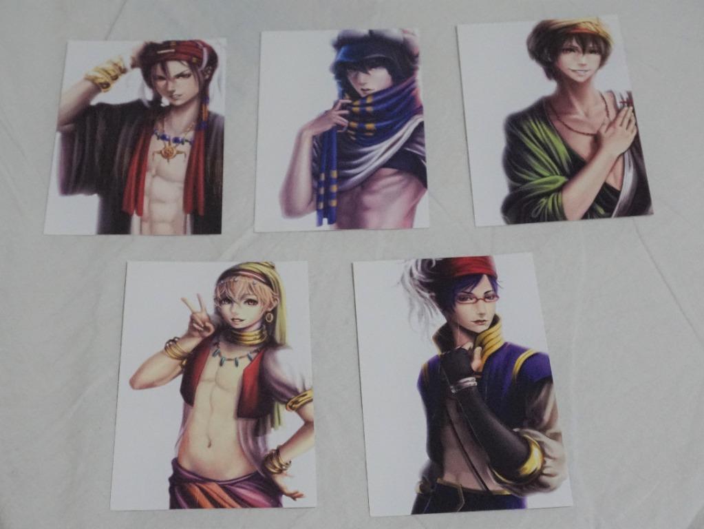 Free! Iwatobi Swim Club Anime Character Custom Design Card