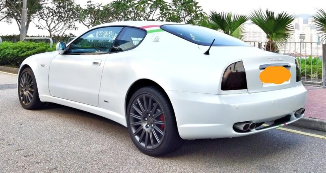 Maserati 2002 Maserati  Coupe Corsa M138 ABE 2002 Maserati  Coupe Corsa M138 ABE Auto