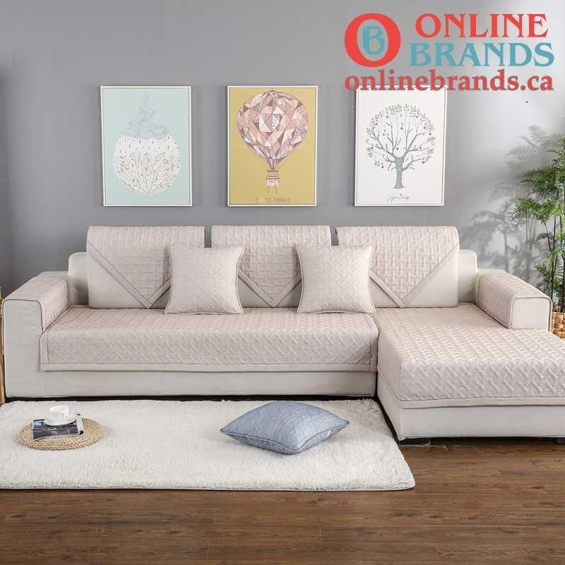 Non-slip Sofa and Couch cover | Free shipping | Online Brands