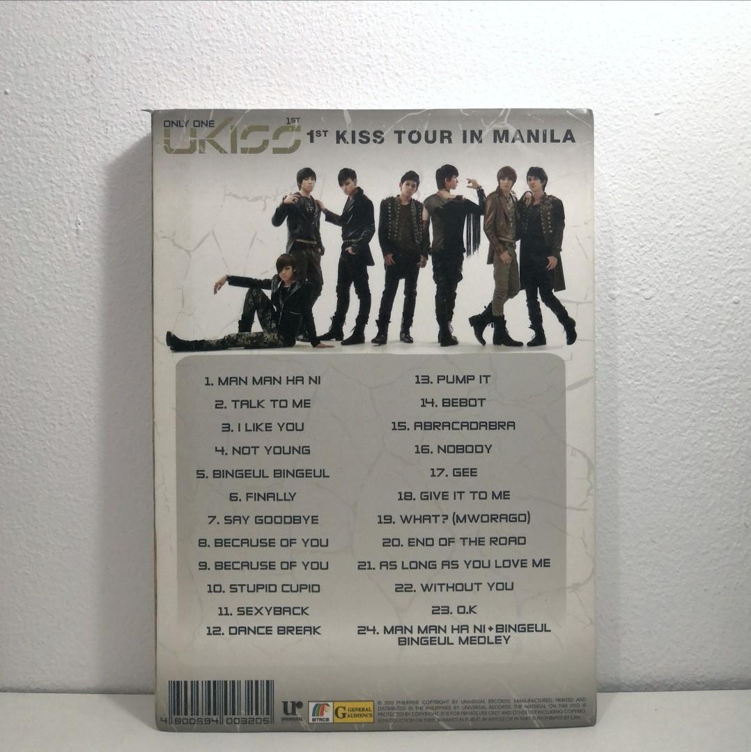 U-KISS Break Time signed (bonus Manilla Tour DVD, photobook, poster + photo card Xander)