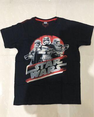 Kaos H&R Star Wars Stormtrooper Ukuran M Second Bekas Murah