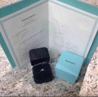 Tiffany Co Diamond ring