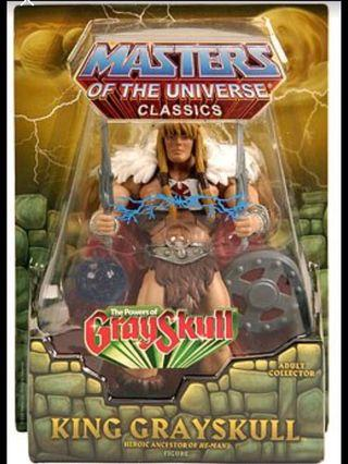 MOTUC He-man  King Grayskull  Masters