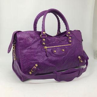 Balenciaga Part Time Purple GHW