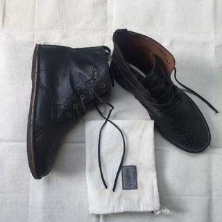 Sepatu Boots / Pantofel Suedehead Original Leather