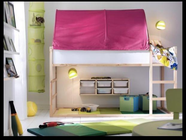 Ikea Kura Bed Tent Canopy Furniture Home Living Others On Carousell
