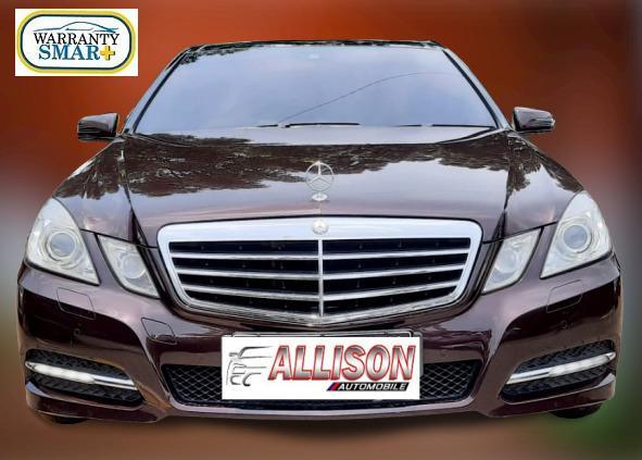 Mercy E 300 W212 CKD AT 2012 Coklat Sunroof,No Pol Genap
