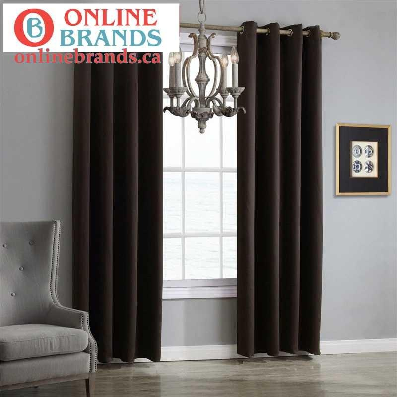 Modern Blackout Curtains   Curtains for rooms   Free shipping   Online Brands