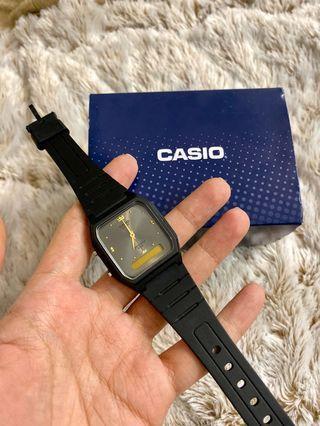 全新 現貨 卡西歐 CASIO 潮流復古 雙顯指針錶 AW-48-8A 電子錶 手錶 方錶 男錶 女錶 超薄 雙顯 碼錶