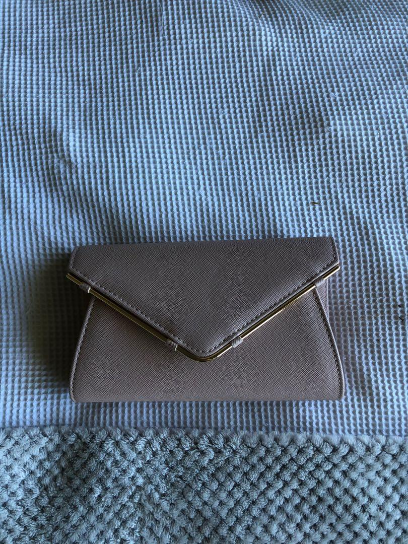 Colette clutch pink
