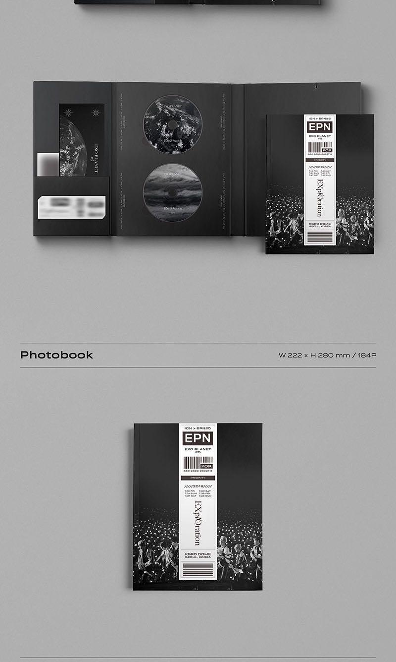 EXO - Exo Planet #5 - Explrotaion Photobook & Live Album