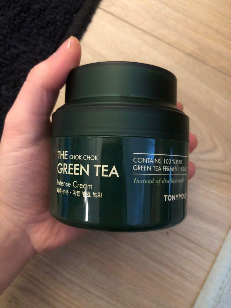 Kbeauty - Tony Moly Green Tea Chok Chok Intense cream