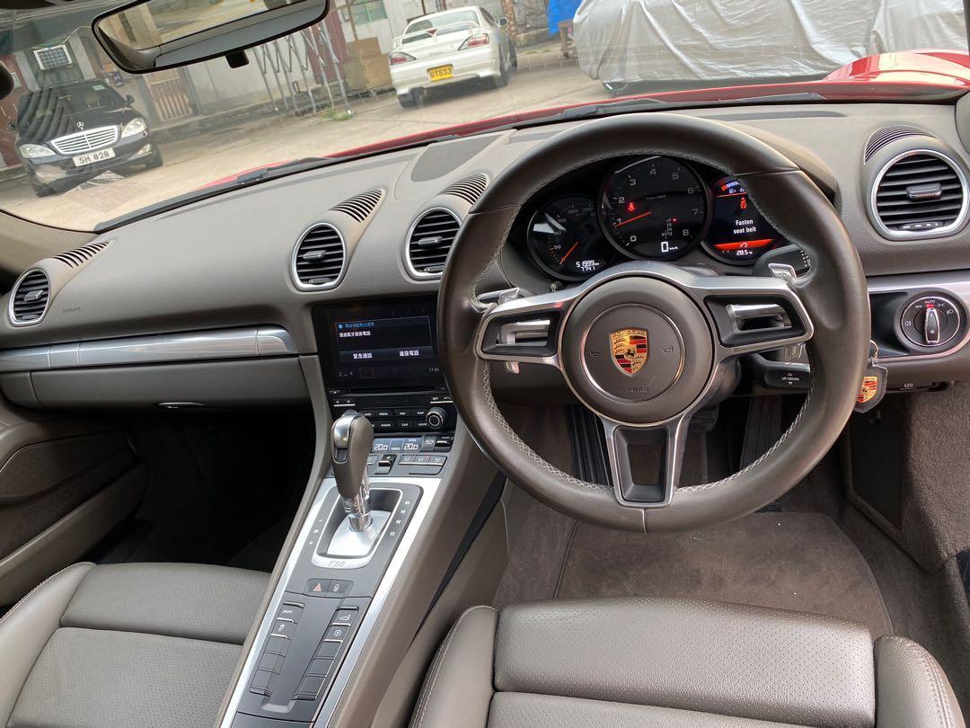 Porsche 718 2.0 Cayman PDK (M)