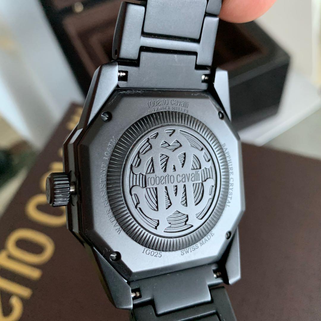 Roberto Cavalli By FRANCK MULLER Italian Swiss made watch