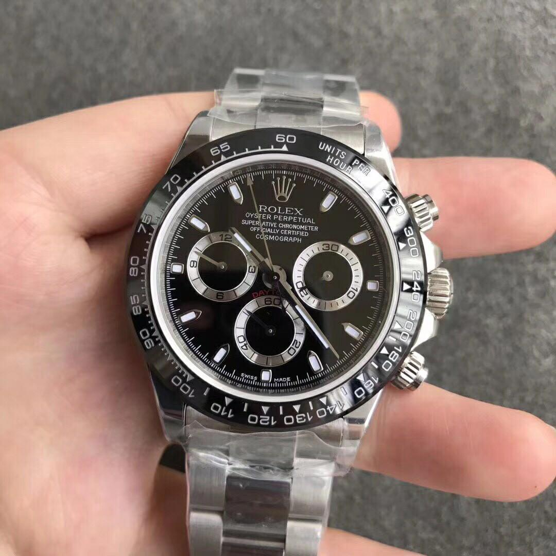 (Special Price) Noob Factory Rolex Daytona Cosmograph 116500-116520 316L SWISS 7750 Movement