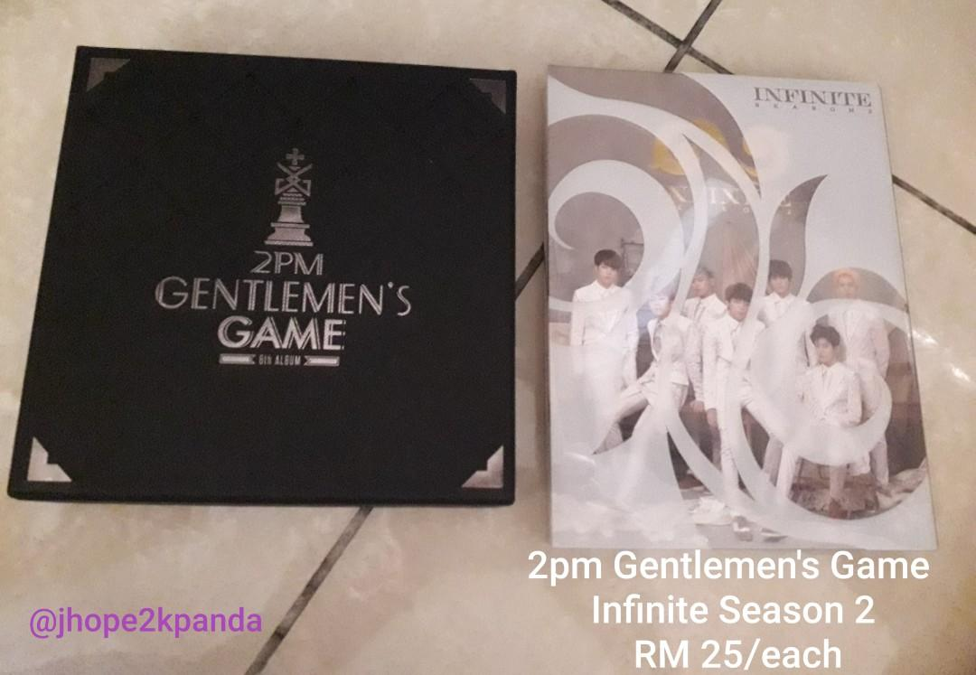 [WTS] 2PM, INFINITE, BRIAN album and OFFICIAL Merch