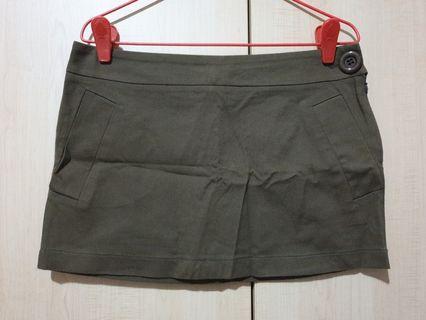 BNWOT M)phosis Brown Mini Skirt