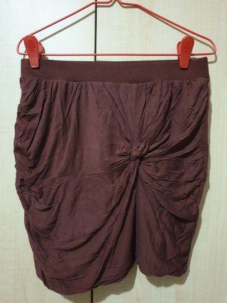 BNWT M&S Maroon Skirt