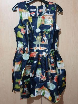 BNWT Dark Blue Utsukushii  Dress