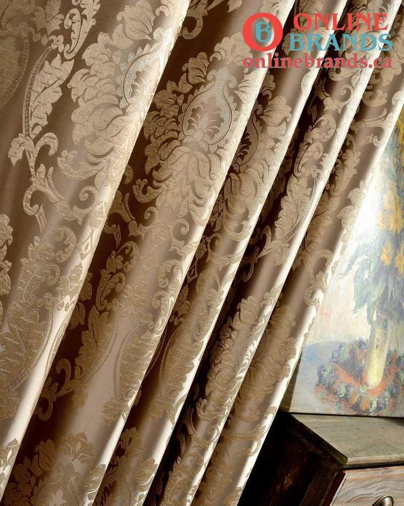 European Damask Curtains | Free Shipping | Online Brands