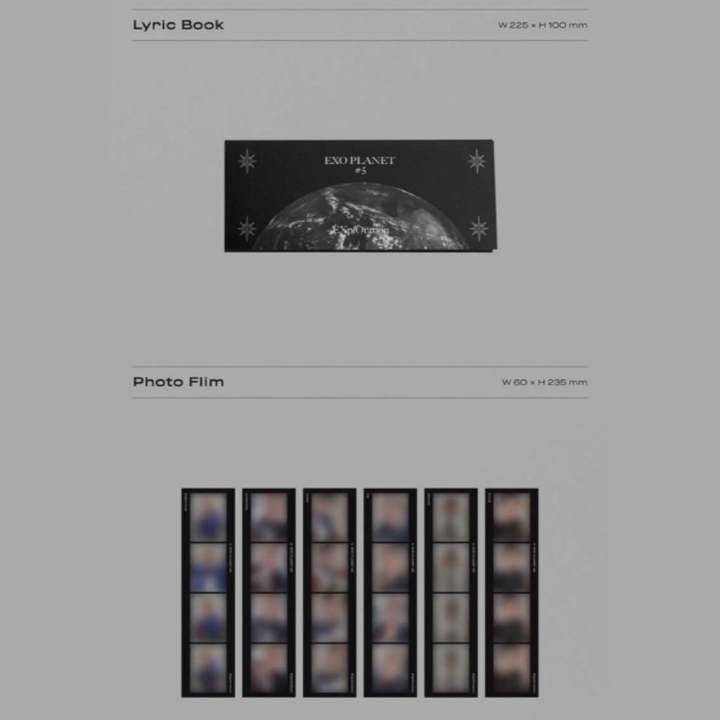 EXO Planet #5 - EXplOration (Concert Photobook + Live Album)