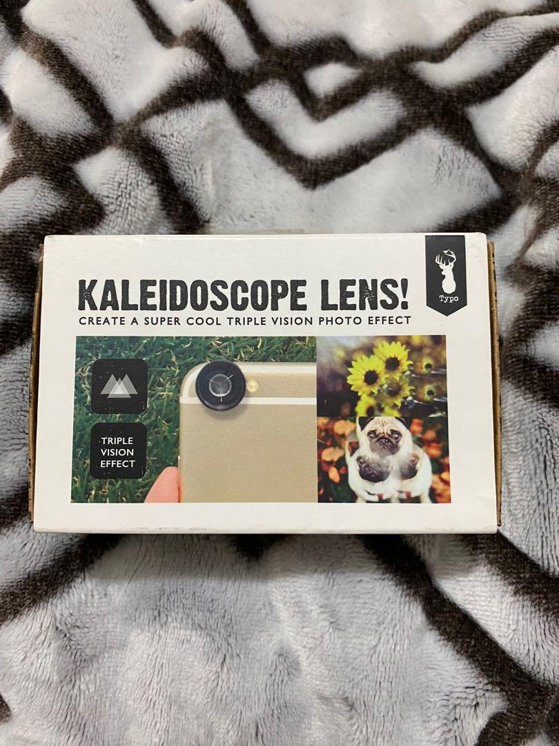 Kaleidoscope lens. Compatible with all smartphones