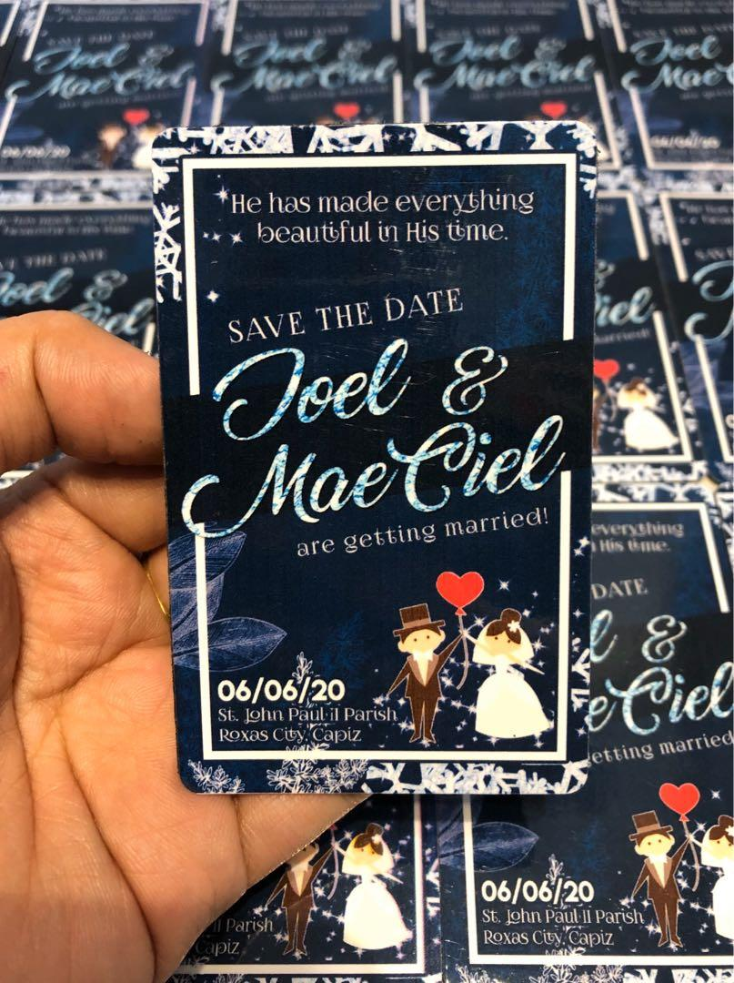 Save The Date Ideas Customized Ref Magnet For Weddings Looking For On Carousell